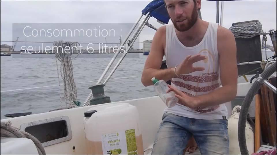 Le Liquide Vaisselle Symbiose Reims Partenaire du Tour du Monde ZERO DECHET…