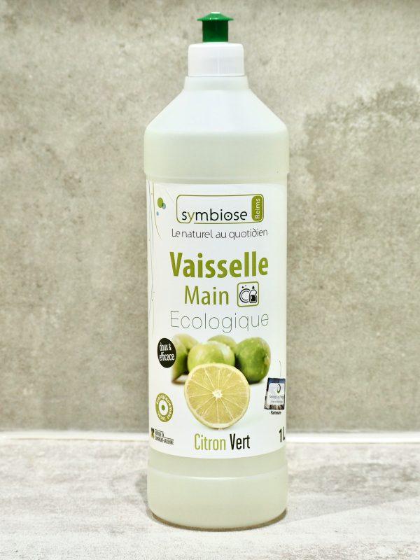 Vaisselle Main Symbiose 1L Citron Vert
